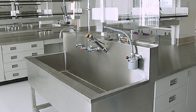 Healthcare and laboratory fixtures