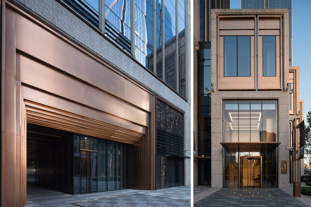 Curtain-walling, Panels and Doors - Double Stone Steel