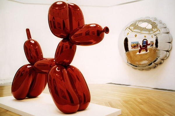 Koons Balloon Dog Orange