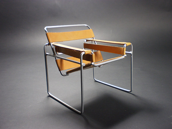 The Wassily Chair By Marcel Breuer.   Originally Know As Chair Model B3,  Club