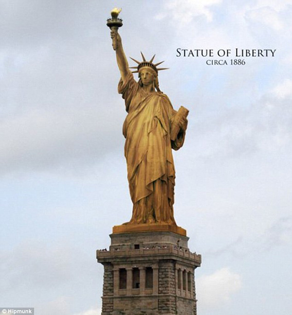 Liberty Enlightening The World More Popularly Known As