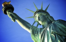 Liberty Enlightening The World (more popularly known as the 'Statue of Liberty')