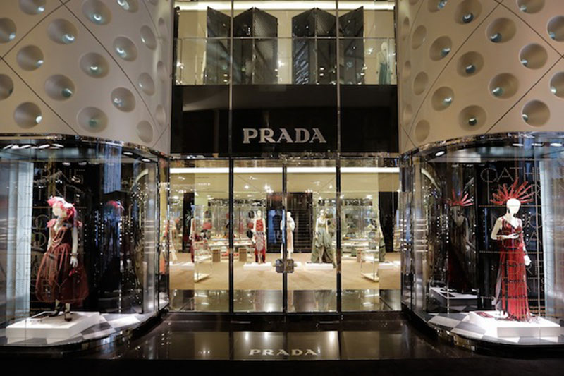 prada shoes in sandton mall clothing