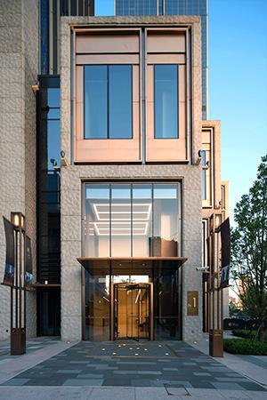 Case Study Shanghai Bund Financial Centre Doublestone Steel