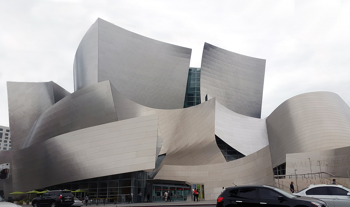 The Walt Disney Concert Hall Los Angeles California
