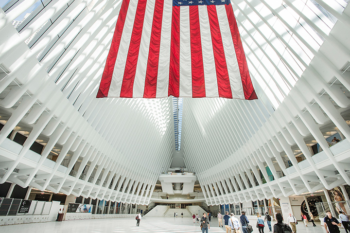 Calatrava At The World Trade Center Double Stone Steel